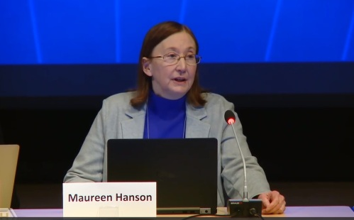 Maureen Hanson - skjermdump video NIH
